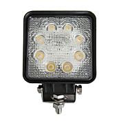 24W Rectangle 8 Trabajo de luz LED