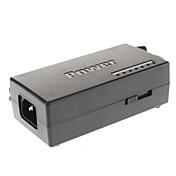 96W Adaptador de corriente portátil universal con 8 conectores separados (Negro)