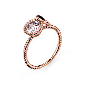 円形のダイヤモンドリング