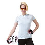 女性用 ランニングTシャツ 半袖 速乾性 高通気性 Tシャツ のために キャンピング&ハイキング 登山 エクササイズ&フィットネス レジャースポーツ サイクリング/バイク ポリエステル S M L XL