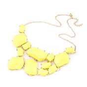 樹脂の女性のネックレスとアメージング合金(その他の色)