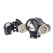 自転車用ライト / 自転車用ヘッドライト LED Cree サイクリング 充電式 / アラーム 18650 1800 ルーメン バッテリー サイクリング