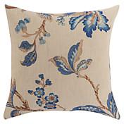 Cubierta contra poliéster ™ almohada floral tradicional