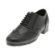Zapatos de baile (Negro) - Tap - No Personalizable - Tacón grueso
