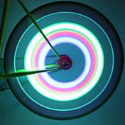 Luces para bicicleta luces de la rueda Luces Tiltilantes para Tapas de Válvulas LED Ciclismo Impermeable Lumens Batería Ciclismo
