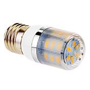 4W E26/E27 Bombillas LED de Mazorca T 24 SMD 5730 360 lm Blanco Cálido AC 100-240 V