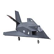 64mm F-117 8 Canales 2.4G Avión de radiocontrol  100 km / h