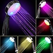 Průtok vody Power Generation postupné změny barvy LED ruční sprcha