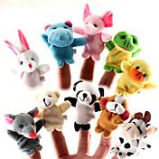 指人形 アニマル カトゥーン プラモデル&組み立ておもちゃ 男の子用 / 女の子 クロス