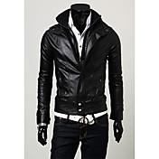 Shangduカジュアルスタンドカラーショートジャケット(ブラック)