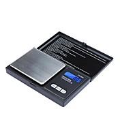 バランスポータブル650g/0.1g計量高精度ミニ電子デジタルポケットスケールジュエリー