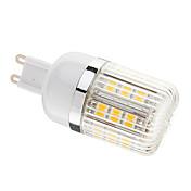 調光可能G9 3W 27xSMD 5050 350LM 3000 - 3500KウォームホワイトライトLEDコーン電球(AC 220-240V)