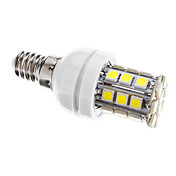 4W E14 LEDコーン型電球 T 30 SMD 5050 400 lm クールホワイト 明るさ調整 交流220から240 V