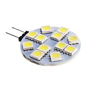 6W G4 LED-spotlys 12 SMD 5050 420 lm Kold hvid Jævnstrøm 12 V