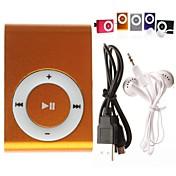 Micro SD/ TF カードリーダー付きMP3ミュージックプレイヤー(各色あり)