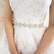 Saten Vjenčanje / Zabava / večer Pojas-Cirkonici Žene Obala 78 ¾ u (200cm) Cirkonici