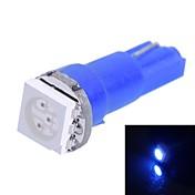 gc® 0.25W t5 15lm 1x5050smd condotto la luce blu per auto indicare lampada larghezza del cruscotto (dc 12v)