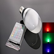 E26/E27 LEDスポットライト C35 1 ハイパワーLED 950 lm RGB リモコン操作 AC 85-265 V