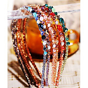 modni Višebojni nepravilna kristalni ukras hairbands (1 kom) (više boja)