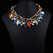 JQの宝石の女性の宝石のショートネックレス