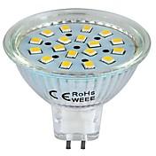 Focos LED GU5.3(MR16) 3W 18 SMD 2835 260 LM Blanco Cálido DC 12 V