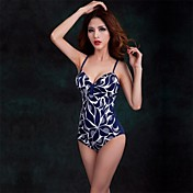 Foclassy® Women's Push-Up Plus Size One-Piece Floral Printed