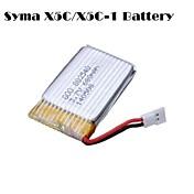 SYMAのx5c x5c-1 x5sc x5sw cheerson cx30w cx30s用3.7Vの680mahドローンクワッドローターバッテリー