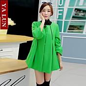 venta yalun®hot! tamaño más abrigo capa coreana de las mujeres
