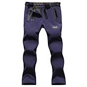 Mujer Pantalones para senderismo Impermeable Mantiene abrigado Resistente al Viento Forro Polar Aislado Resistente a la lluvia