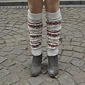 Esquí Calentadores de la pierna/Polainas / Calcetines Mujer Mantiene abrigado Tabla de Snowboard Flores / Botánica Deportes recreativos