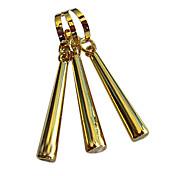 Jewelry Inspirirana One Piece Roronoa Zoro Anime Cosplay Pribor Füllbevalók Zlatna Alloy / Artificial Gemstones Male