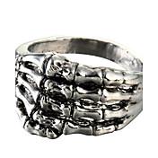 Ringe Daglig Smykker Titanium Stål Statement-ringe8 Sølv