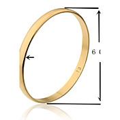 Náramky Kotníkové náramky Pozlacené Others Jedinečný design Módní Svatební Párty Šperky Dárek Zlatá,1ks