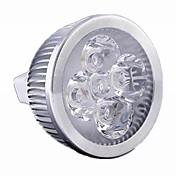 5w / 4w gu5.3 (mr16) llevó el proyector mr16 4 el poder más elevado llevó 500 lm caliente blanco / fresco blanco dimmable dc 12 / ac 12 v 1 pcs