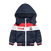 Boy's Children's Set Spring 2015 New Outlets Children's Jacket Hooded Cotton Trench Coats