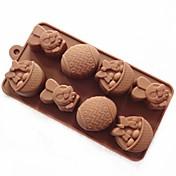 coelho molde sabão molde do bolo molde de silicone molde de ovo de páscoa para chocolate