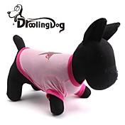 Gatos / Perros Camiseta Rosado Ropa para Perro Primavera/Otoño Estrellas