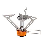 Fire-Maple Estufa plegable Hornillo-barbacoa para camping Solo Acero inoxidable para Al Aire Libre
