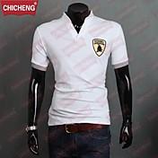 moda masculina chicheng® collar del soporte delgado polos pau