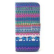 のために Samsung Galaxy ケース ウォレット / カードホルダー / スタンド付き ケース フルボディー ケース エレファント ハード PUレザー SamsungS6 edge / S6 / S5 Mini / S5 / S4 Mini / S4 / S3