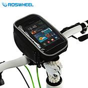 ROSWHEEL® 自転車用バッグ 1.5L携帯電話バッグ / 自転車用フロントバッグ 多機能の / タッチスクリーン 自転車用バッグ ポリ塩化ビニル サイクリングバッグSamsung Galaxy S11 / Samsung Galaxy S6 edge / LG G3