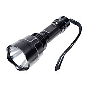 Linternas LED Linternas de Mano LED 1000 Lumens 5 Modo Cree XP-E R2 18650.0 Camping/Senderismo/Cuevas