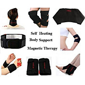 turmalina autocalentamiento ayuda de la cintura rodillera hombro del cuello del tobillo almohadilla de soporte ayuda del codo 7 en 1 juego