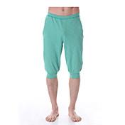 Pantalones de yoga Pantalones/Sobrepantalón Prendas de abajo Elástica en 4 Modos Sensación de Agarre Compresión por Zonas Cintura Media