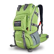 40 L Backpacking paketi Camping & planinarenje Penjanje Vodootporno Otporno na kišu Podesan za nošenje Višenamjenski Najlon Mrežica