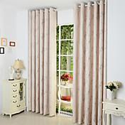 Dva panely Window Léčba Země Obývací pokoj Směs polybavlny Materiál záclony závěsy Home dekorace For Okno