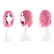 Mujer Pelucas sintéticas Sin Tapa Ondulado Rosa Las pelucas del traje
