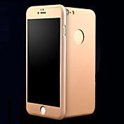 用途 iPhone 8 iPhone 8 Plus iPhone 7 iPhone 7 Plus iPhone 6 iPhone 6 Plus ケース カバー 耐衝撃 Other フルボディー ケース 純色 ハード 金属 のために Apple iPhone 8 Plus