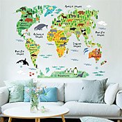 Animales Caricatura Paisaje Pegatinas de pared Calcomanías de Aviones para Pared Calcomanías Decorativas de Pared MaterialPuede Cambiar