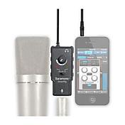 micrófono adaptador de audio XLR preamplificador con alimentación phantom para apple ipad iphone 4 5 6 más teléfono inteligente Android